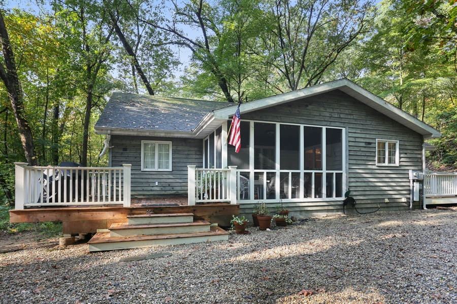 Real Estate Photography - 4195 Cherokee Dr, Michiana, MI, 49117 - Side View