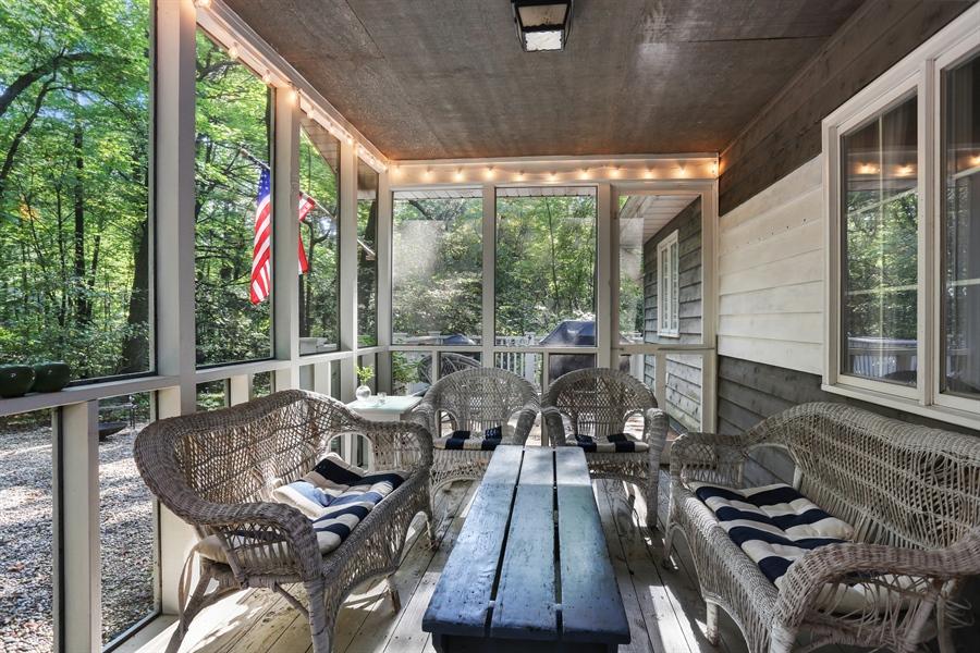 Real Estate Photography - 4195 Cherokee Dr, Michiana, MI, 49117 - Porch