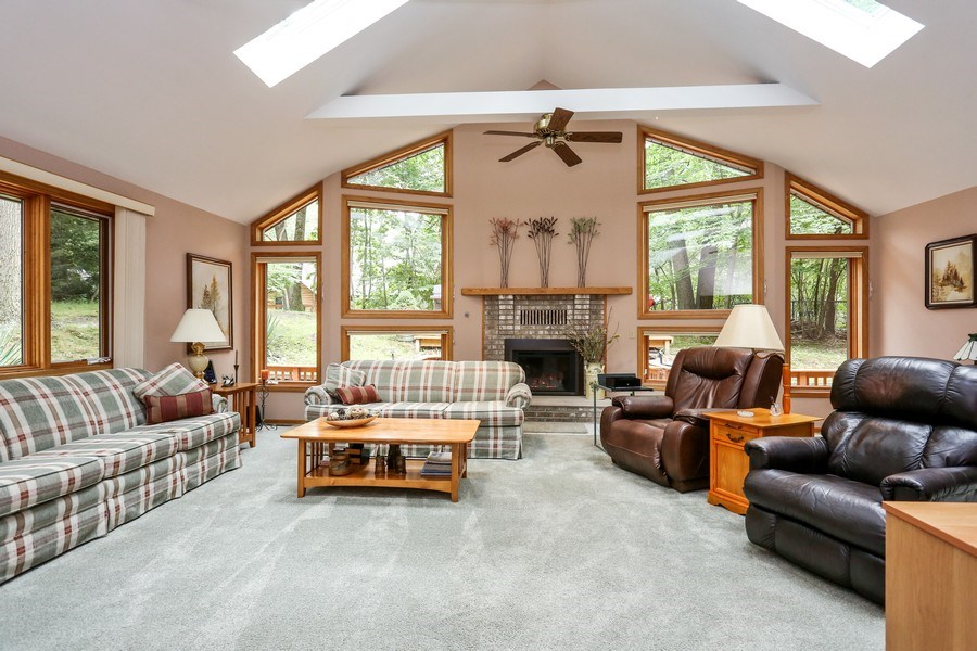 Real Estate Photography - 14458 Wolf Ln, New Buffalo, MI, 49117 - Family Room