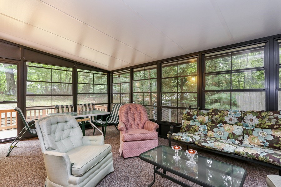 Real Estate Photography - 14458 Wolf Ln, New Buffalo, MI, 49117 - Sun Room