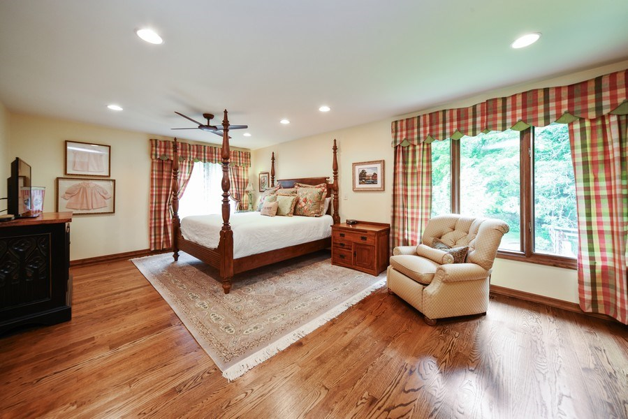 Real Estate Photography - 200 Dundee Rd, Barrington Hills, IL, 60010 - Master Bedroom