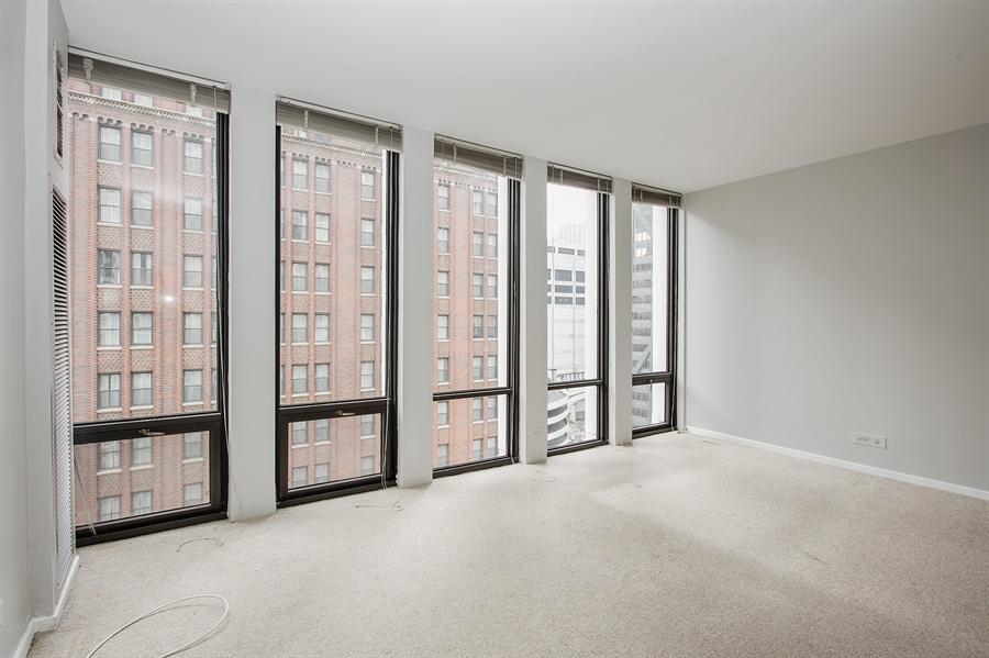 Real Estate Photography - 200 E Delaware, Unit 13E, Chicago, IL, 60611 - Bedroom