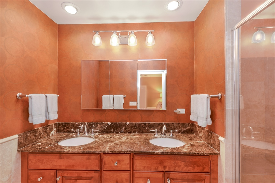 Real Estate Photography - 1641 W Winona, Unit 1, Chicago, IL, 60640 - Master Bathroom