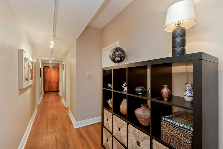 Real Estate Photography - 1641 W Winona, Unit 1, Chicago, IL, 60640 - Hallway