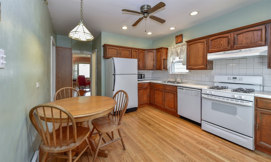 Real Estate Photography - 837 Hannah, Forest Park, IL, 60130 - Kitchen