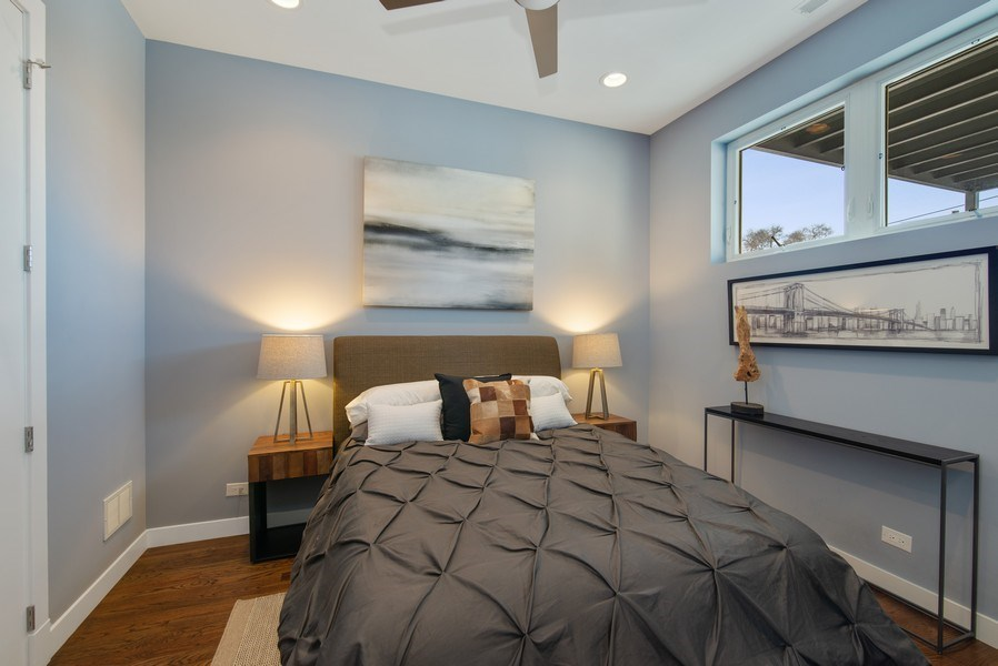 Real Estate Photography - 1046 N Damen, 2S, Chicago, IL, 60622 - 2nd Bedroom