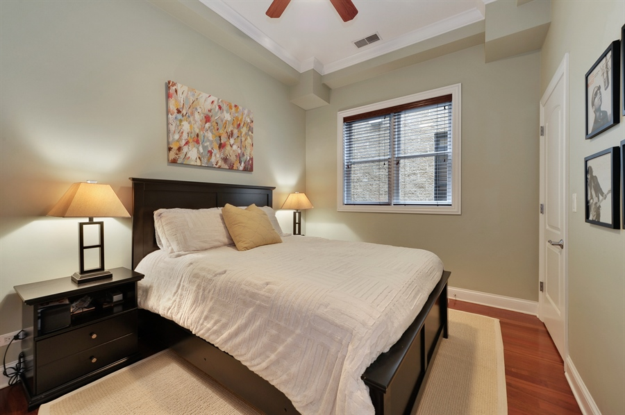 Real Estate Photography - 3247 N. Kenmore, 2, Chicago, IL, 60657 - Second Bedroom