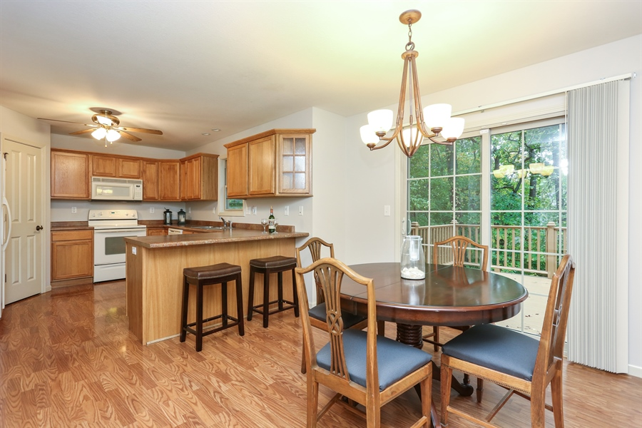 Real Estate Photography - 1323 Sycamore Lane, Benton Harbor, MI, 49022 - Dining Room