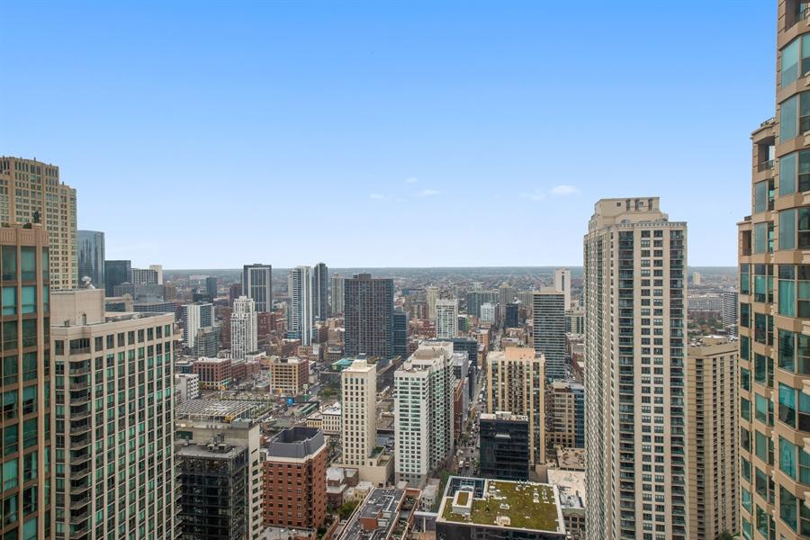 Real Estate Photography - 30 E. Huron St., 4705, Chicago, IL, 60611 - View