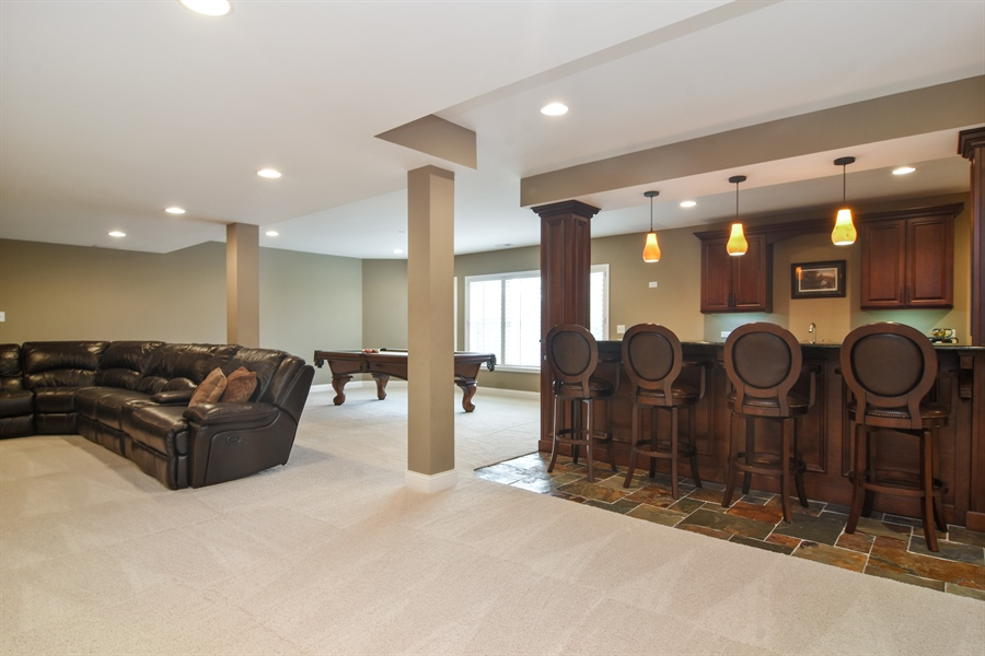 Real Estate Photography - 82 Tournament, Hawthorn woods, IL, 60047 - Lower Level