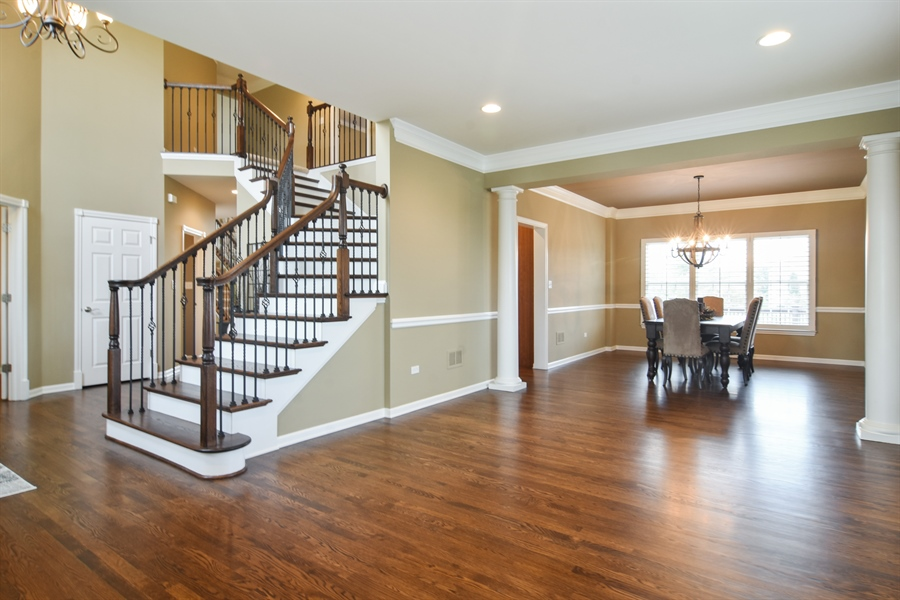 Real Estate Photography - 82 Tournament, Hawthorn woods, IL, 60047 - Living Room / Dining Room