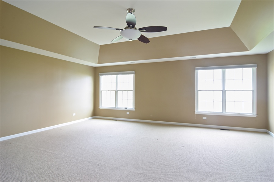 Real Estate Photography - 55 open pkwy, hawthorn woods, IL, 60047 - Master Bedroom