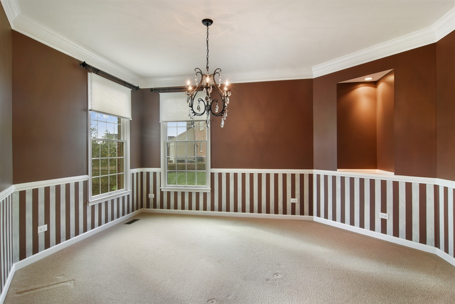 Real Estate Photography - 55 open pkwy, hawthorn woods, IL, 60047 - Dining Room