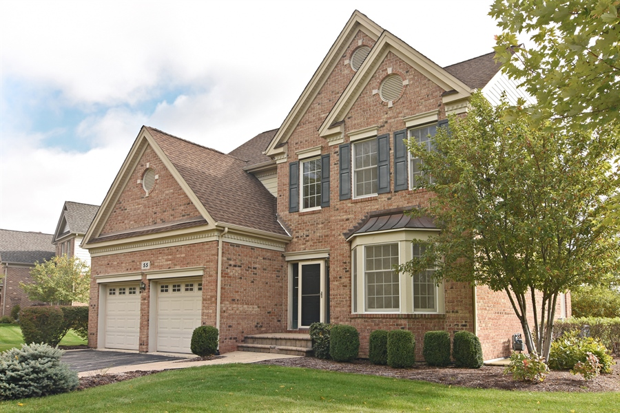 Real Estate Photography - 55 open pkwy, hawthorn woods, IL, 60047 - Front View