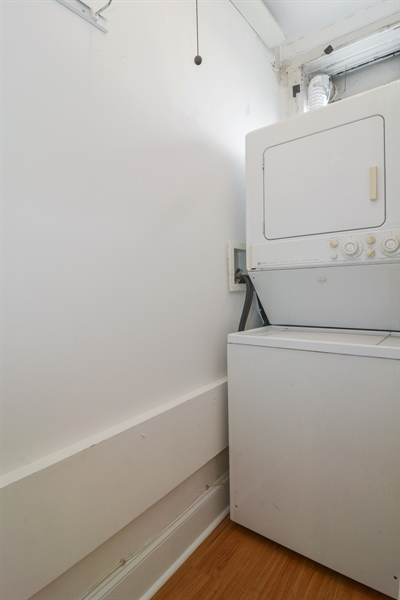 Real Estate Photography - 2319 N Commonwealth, 3E, Chicago, IL, 60614 - Laundry Room