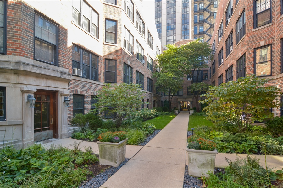 Real Estate Photography - 2319 N Commonwealth, 3E, Chicago, IL, 60614 - Front View