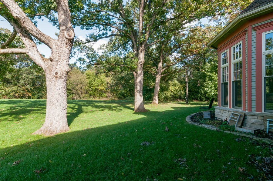 Real Estate Photography - 28W510 Washington, Winfield, IL, 60190 - Back Yard