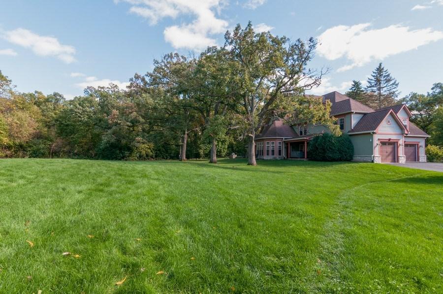 Real Estate Photography - 28W510 Washington, Winfield, IL, 60190 - Rear View