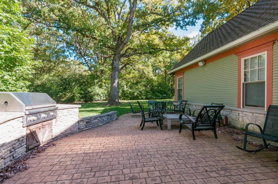 Real Estate Photography - 28W510 Washington, Winfield, IL, 60190 - Patio