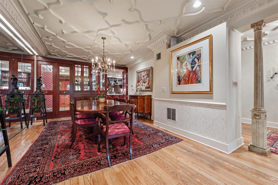 Real Estate Photography - 1252 N State Pkwy, Chicago, IL, 60610 - Dining Room