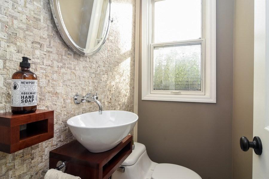 Real Estate Photography - 1005 N Wilke Rd, Arlington Heights, IL, 60004 - Half Bath