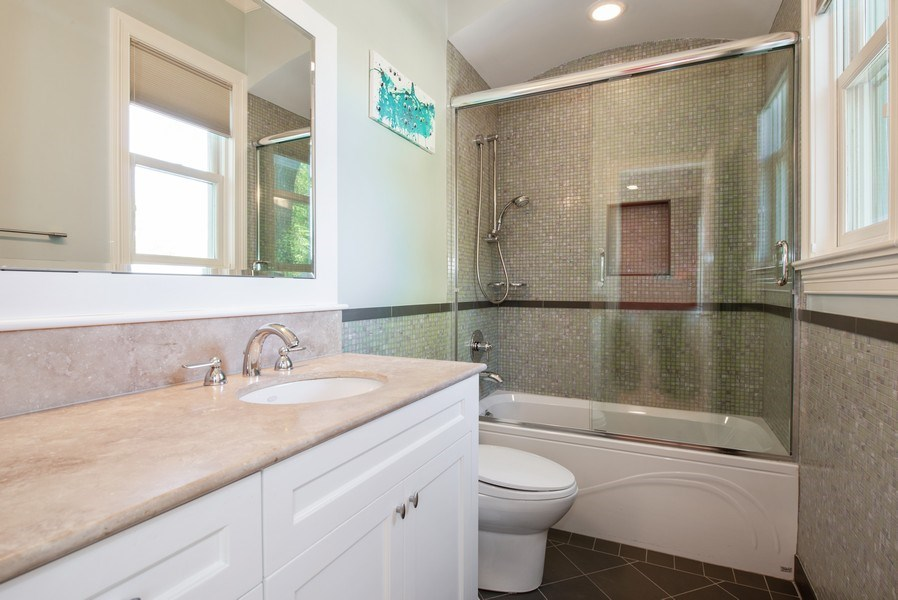 Real Estate Photography - 1225 W. Belden Ave., Chicago, IL, 60614 - 3rd Bathroom