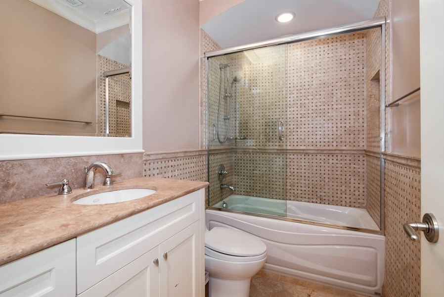 Real Estate Photography - 1225 W. Belden Ave., Chicago, IL, 60614 - 4th Bathroom