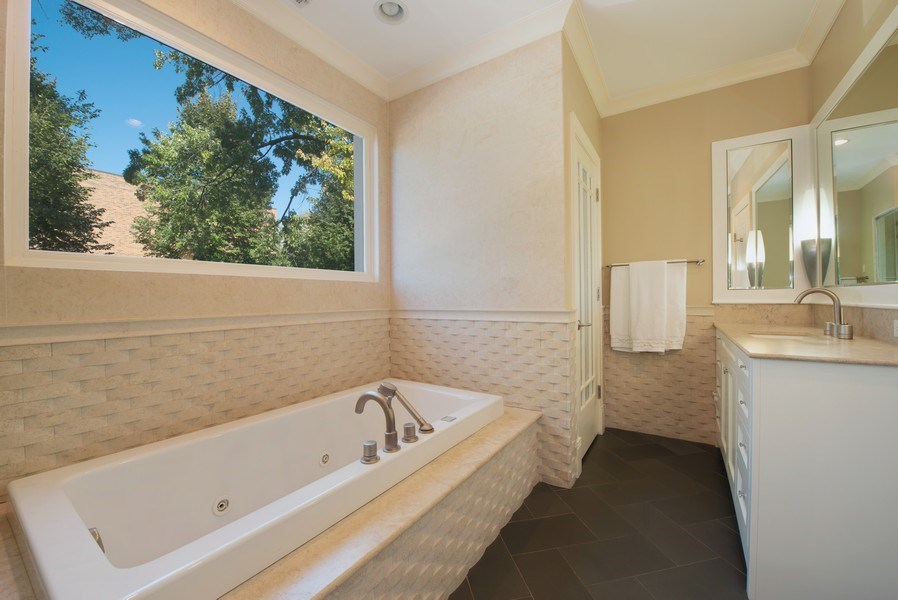 Real Estate Photography - 1225 W. Belden Ave., Chicago, IL, 60614 - Master Bathroom