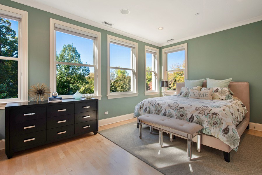 Real Estate Photography - 1225 W. Belden Ave., Chicago, IL, 60614 - 2nd Bedroom
