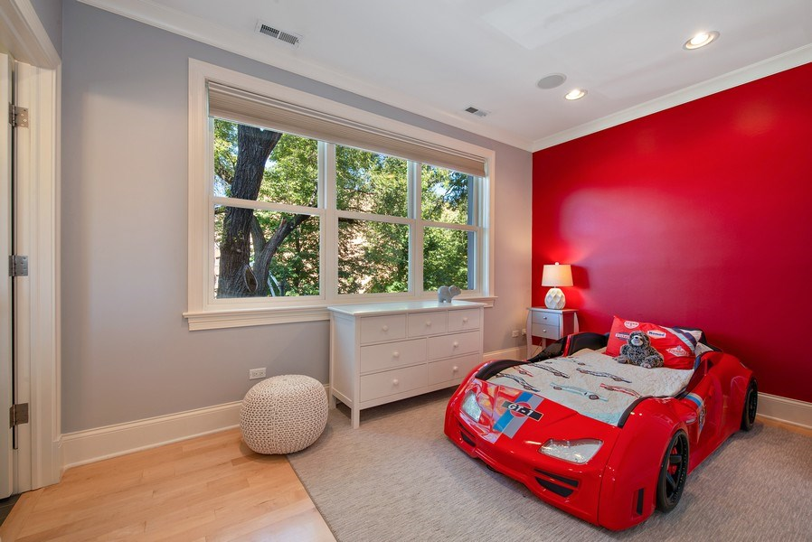 Real Estate Photography - 1225 W. Belden Ave., Chicago, IL, 60614 - 3rd Bedroom