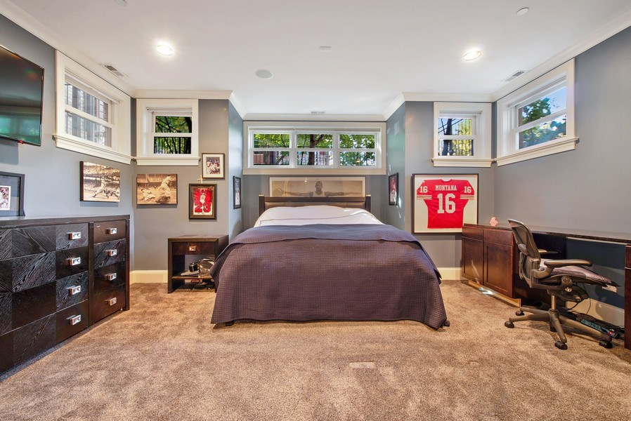 Real Estate Photography - 1225 W. Belden Ave., Chicago, IL, 60614 - 4th Bedroom