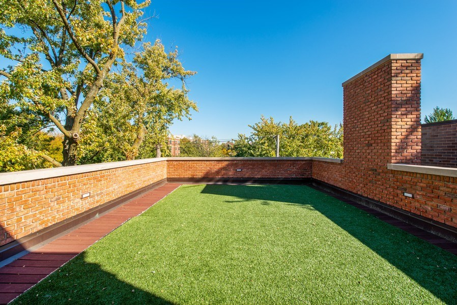 Real Estate Photography - 1225 W. Belden Ave., Chicago, IL, 60614 - Roof Deck #1 - East Facing