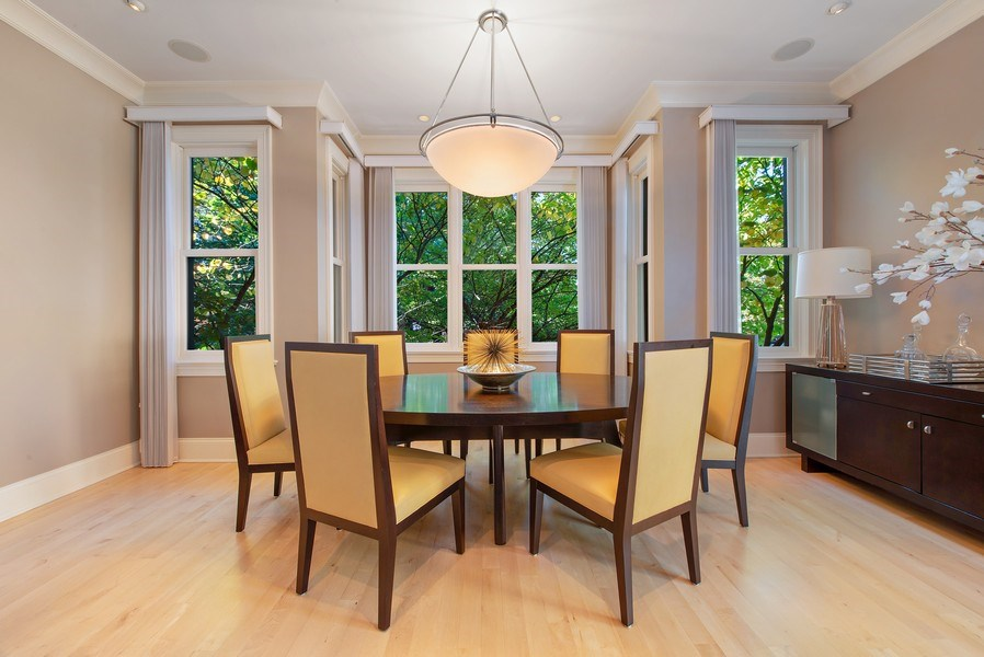Real Estate Photography - 1225 W. Belden Ave., Chicago, IL, 60614 - Dining Room