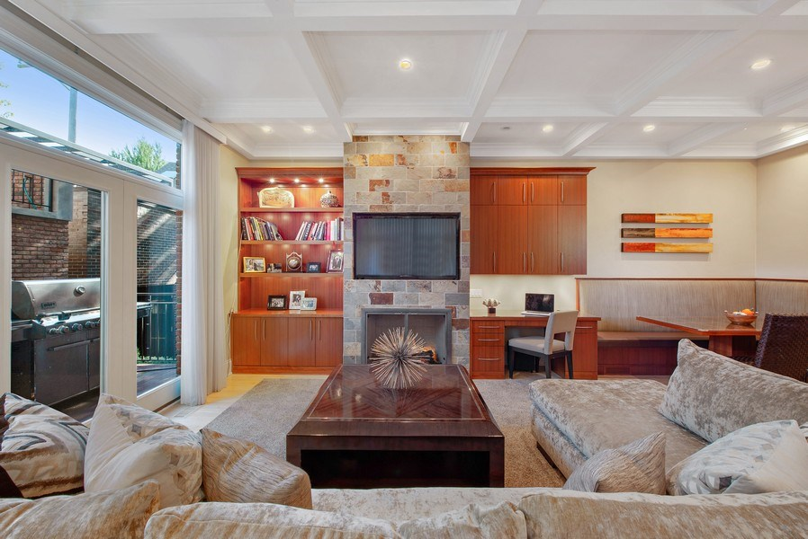 Real Estate Photography - 1225 W. Belden Ave., Chicago, IL, 60614 - Family Room