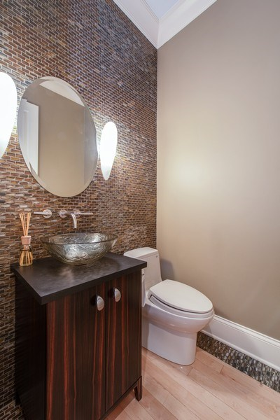Real Estate Photography - 1225 W. Belden Ave., Chicago, IL, 60614 - Half Bath