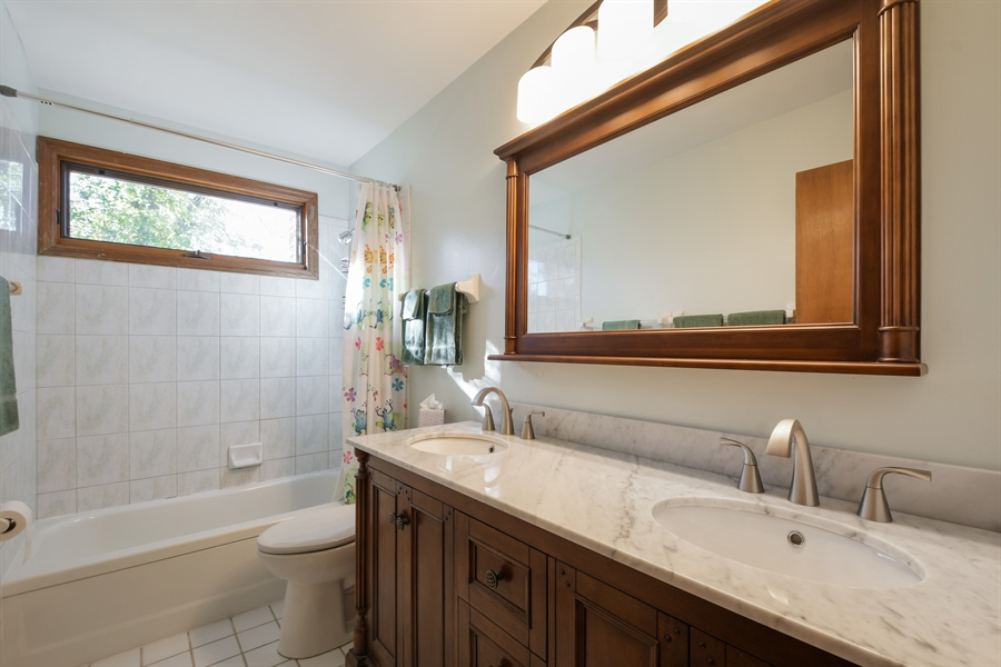 Real Estate Photography - 3034 N Kennicott Ave, Arlington Heights, IL, 60004 - Bathroom
