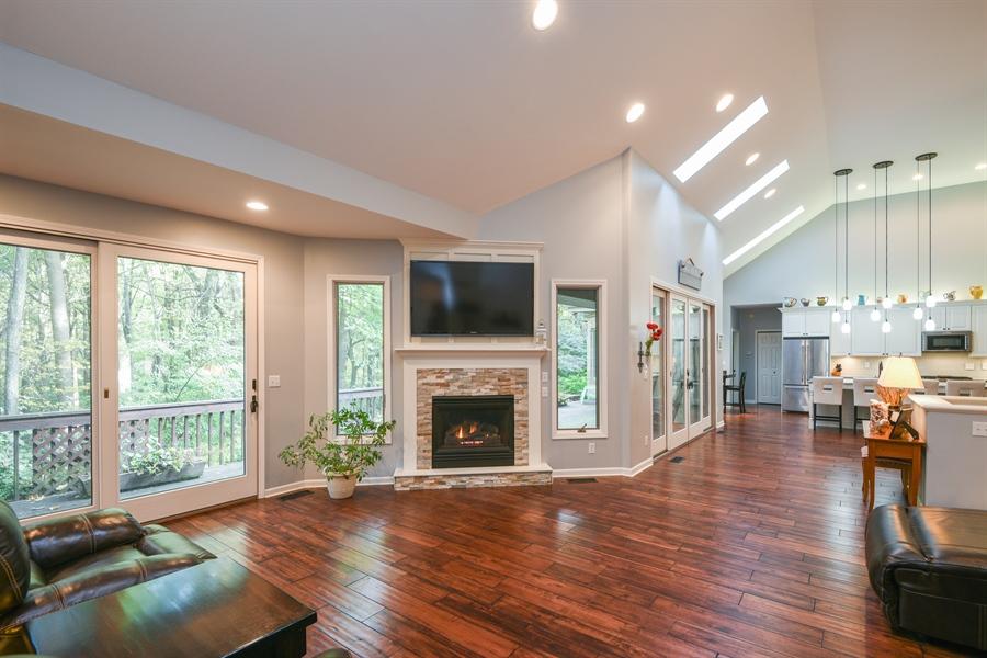 Real Estate Photography - 9344 Park Ridge Trail, Berrien Center, MI, 49102 - Living Room