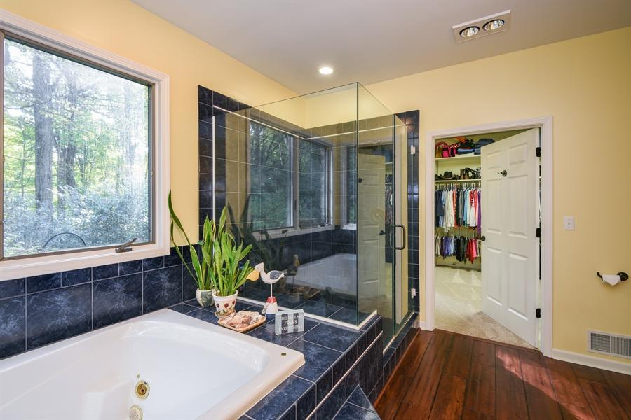 Real Estate Photography - 9344 Park Ridge Trail, Berrien Center, MI, 49102 - Master Bathroom