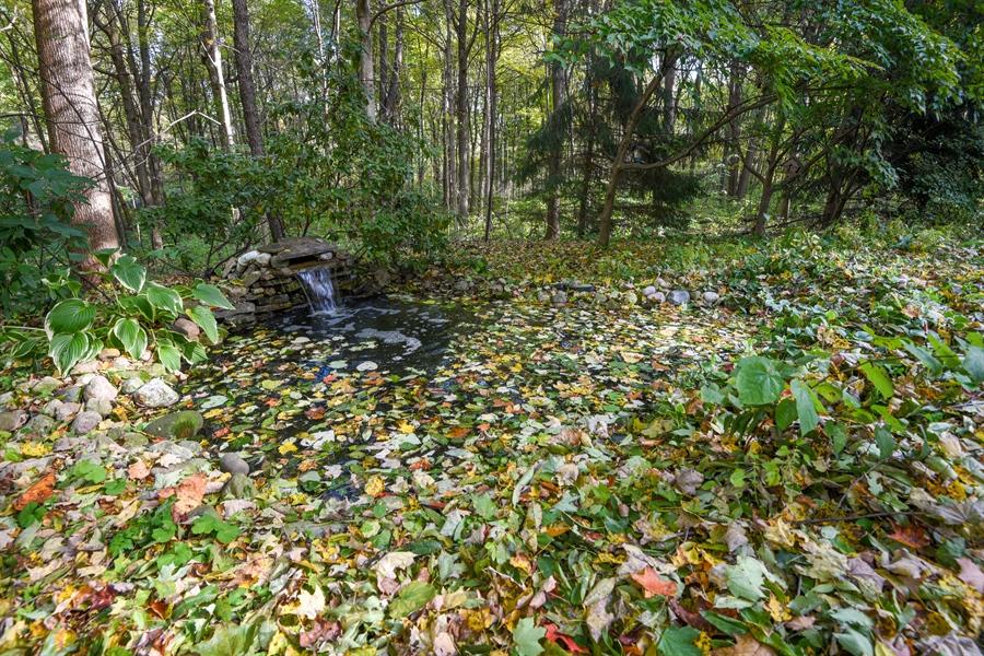 Real Estate Photography - 9344 Park Ridge Trail, Berrien Center, MI, 49102 - Pond