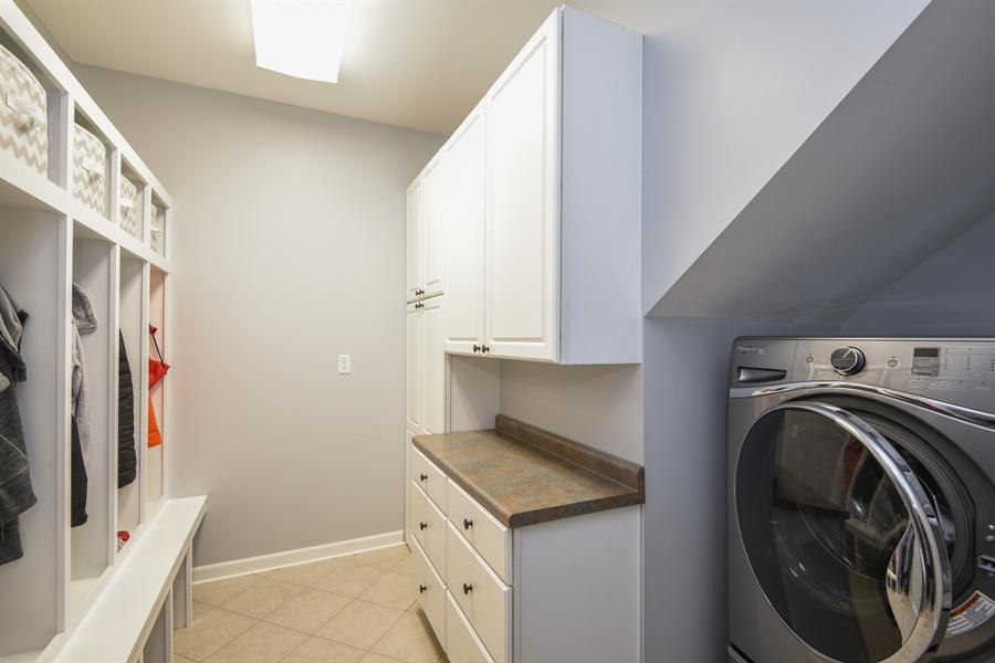Real Estate Photography - 9344 Park Ridge Trail, Berrien Center, MI, 49102 - Laundry Room