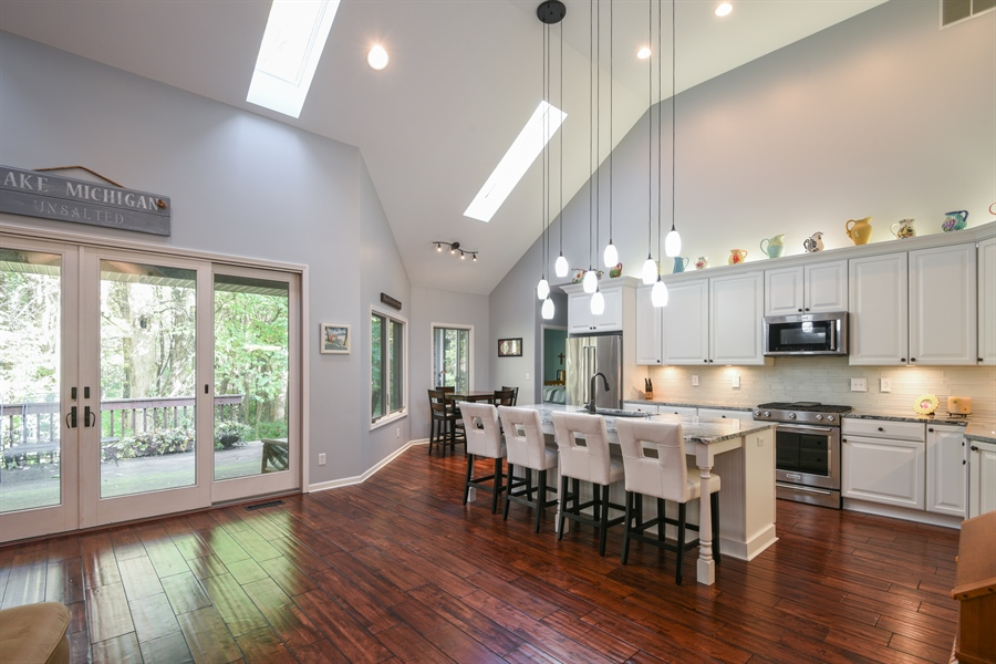 Real Estate Photography - 9344 Park Ridge Trail, Berrien Center, MI, 49102 - Kitchen