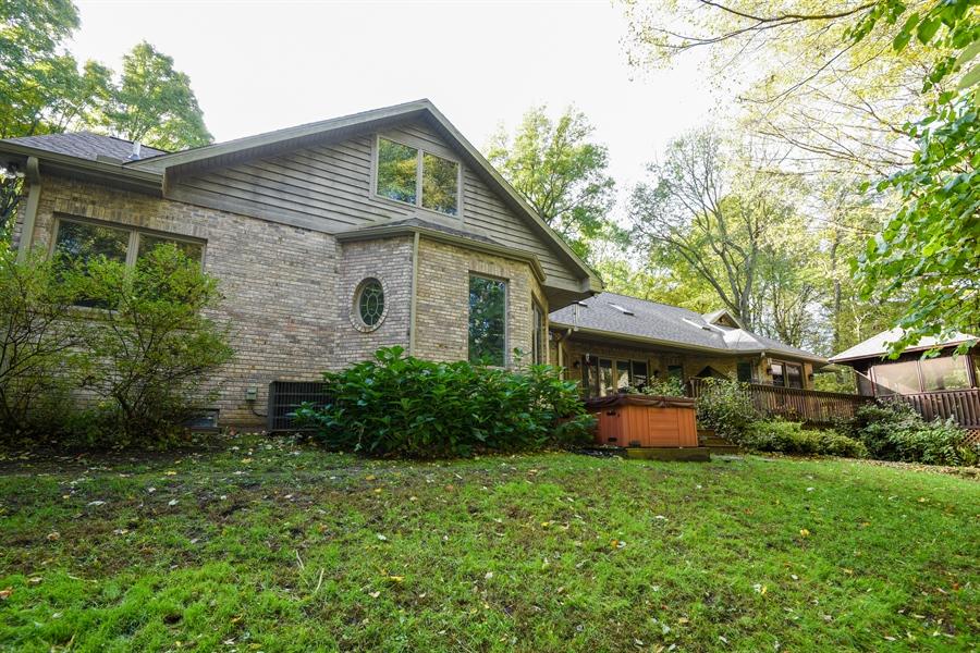 Real Estate Photography - 9344 Park Ridge Trail, Berrien Center, MI, 49102 - Rear View