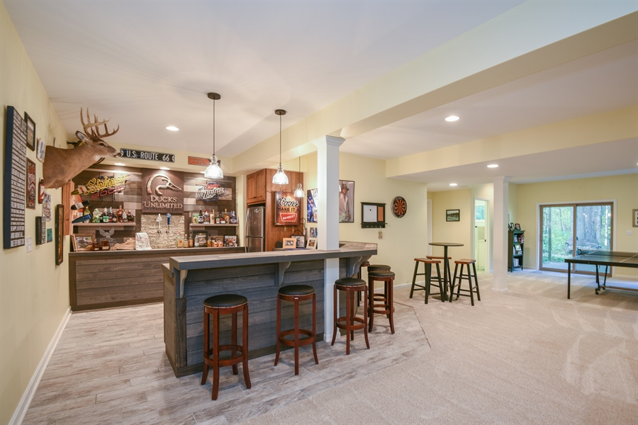 Real Estate Photography - 9344 Park Ridge Trail, Berrien Center, MI, 49102 - Bar
