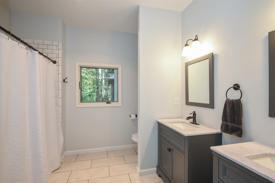 Real Estate Photography - 9344 Park Ridge Trail, Berrien Center, MI, 49102 - Bathroom
