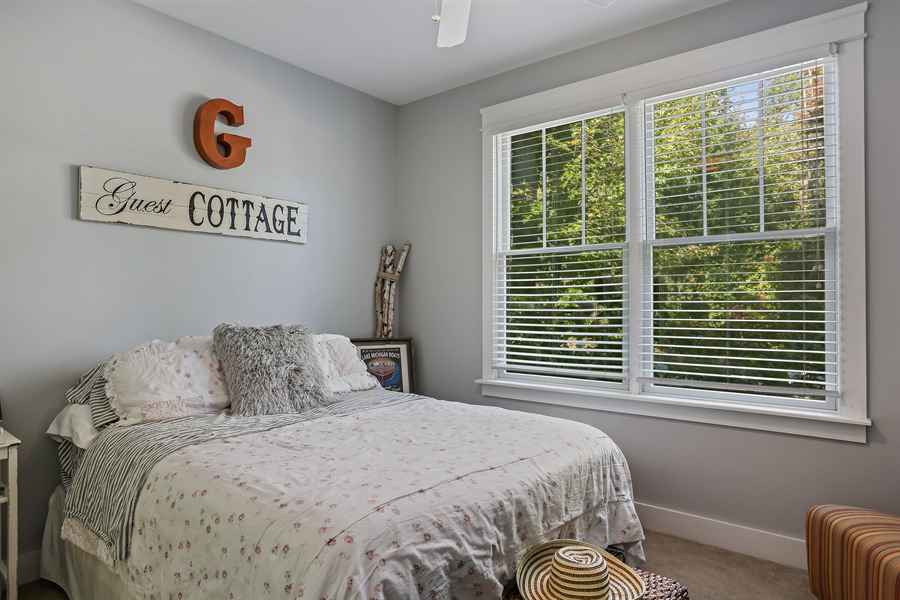 Real Estate Photography - 16216 Quality Ln, Union Pier, MI, 49129 - 2nd Bedroom