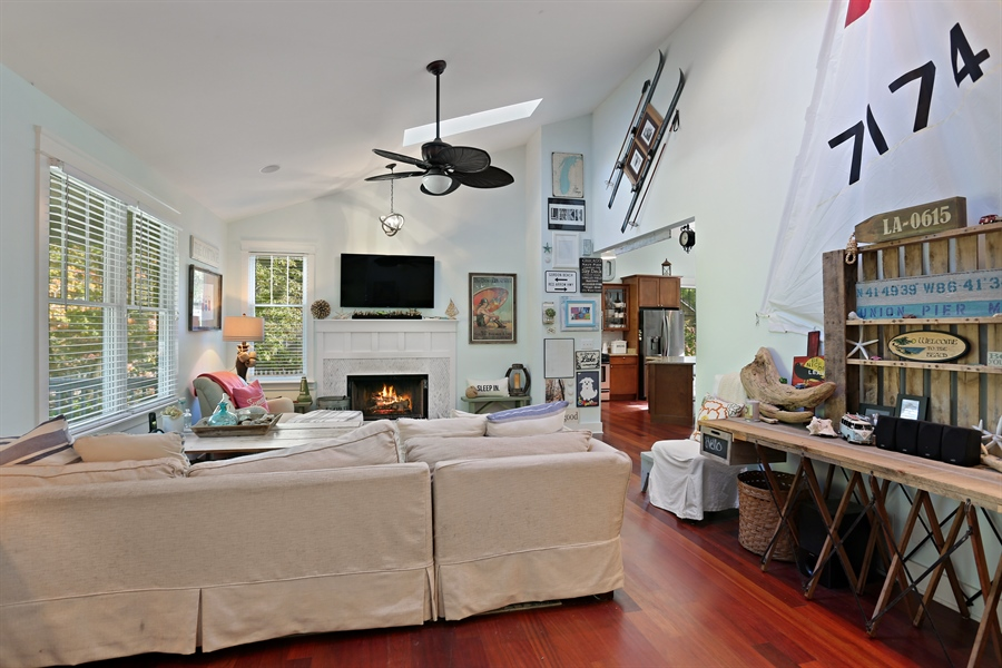 Real Estate Photography - 16216 Quality Ln, Union Pier, MI, 49129 - Living Room
