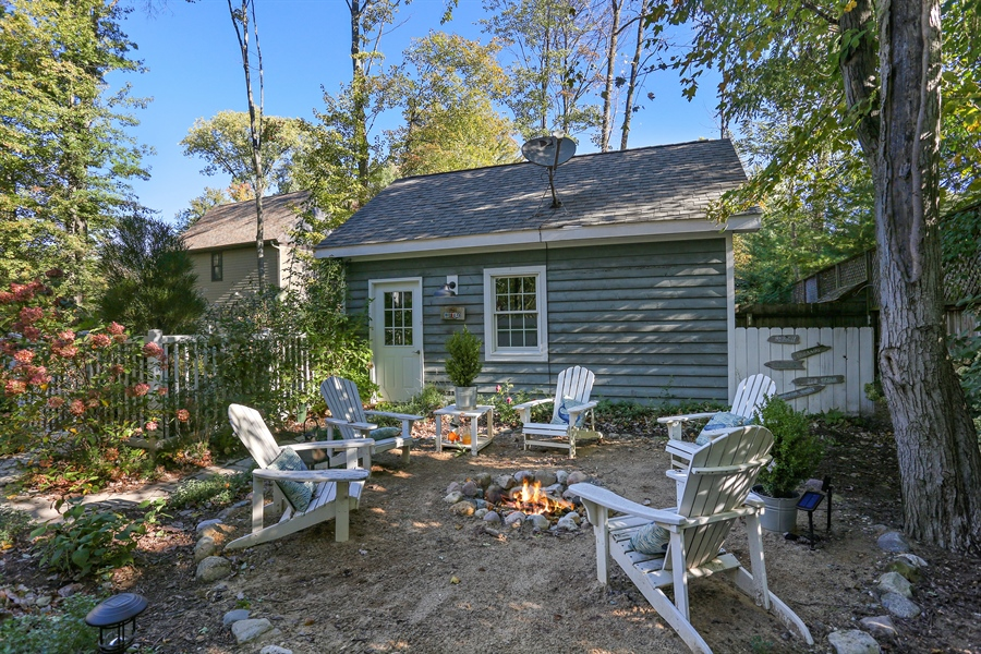 Real Estate Photography - 16216 Quality Ln, Union Pier, MI, 49129 - Back Yard