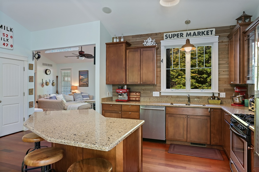 Real Estate Photography - 16216 Quality Ln, Union Pier, MI, 49129 - Kitchen