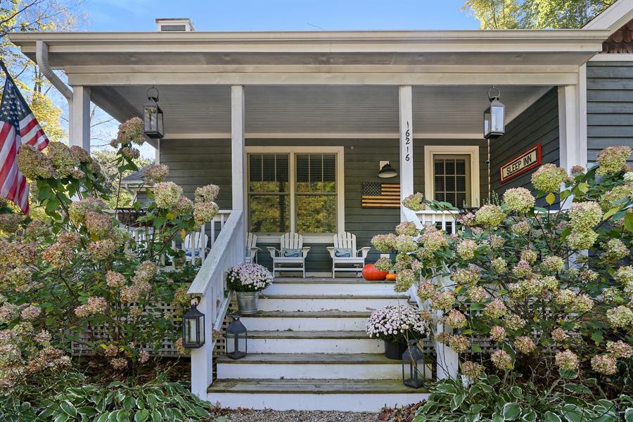 Real Estate Photography - 16216 Quality Ln, Union Pier, MI, 49129 - Porch