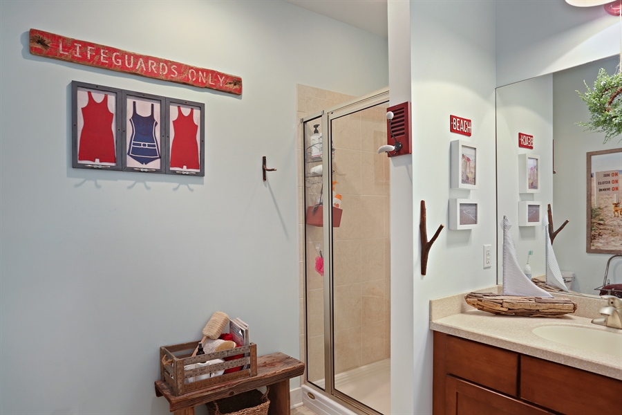 Real Estate Photography - 16216 Quality Ln, Union Pier, MI, 49129 - Bathroom